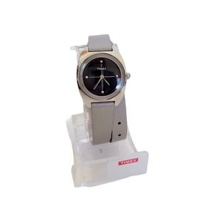 Timex Silver Double Band Watch